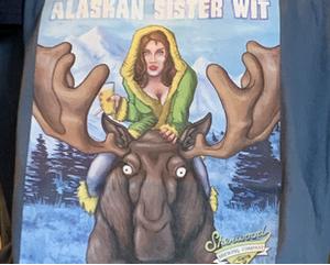 Mens Alaskan Sister Wit T Shirt
