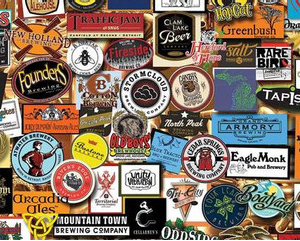 Michigan Brewery Puzzle