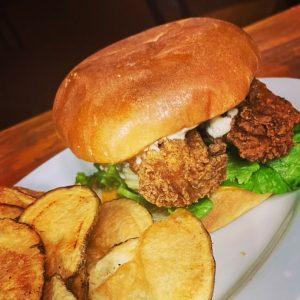 Spicy Nashville Fried Fish Sandwich