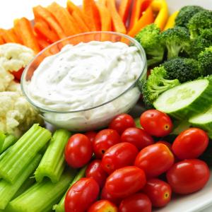 Fresh Veggies & Dip